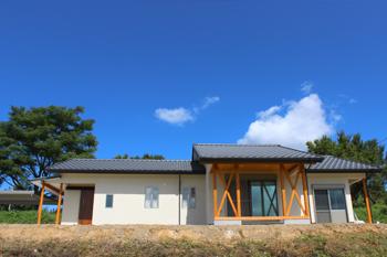 大分の自然素材の家。完成見学会・外観